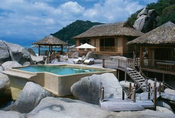 Six Sense Ninh Van Bay villa on the rock