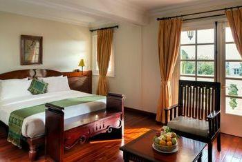 Victoria Chau Doc Hotel Room