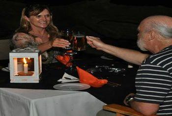 Mahoora Mobile Tented Safari Camps Dinner