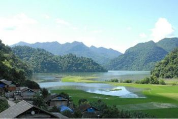 Ba Be Lake View Homestay outer space