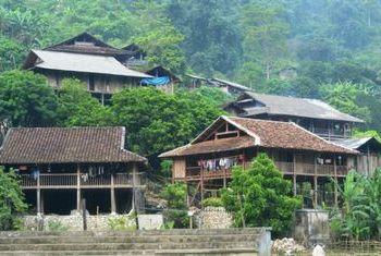 Ba Be Lake View Homestay building