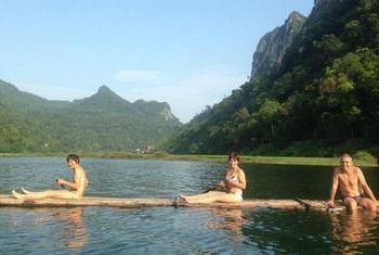 Ba Be Lake View Homestay kayaking