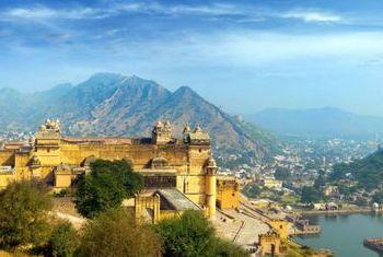 Talabgaon Castle - India Landscape