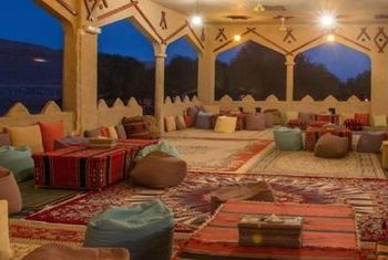 1000 Nights Camp Dining Room
