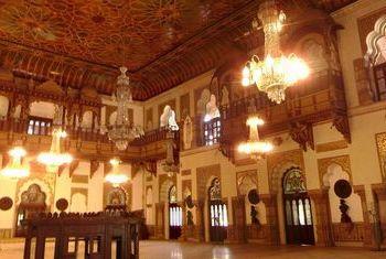 Laxmi Niwas Palace lobby