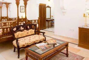 Laxmi Niwas Palace bedroom
