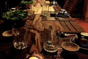 Le Jardin Du Mekong Homestay Kitchen