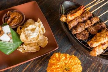 Alaya Ubud Balinese food