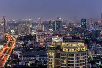 Anantara Sathorn Bangkok from above