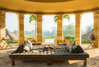 Amanjiwo sun lounge
