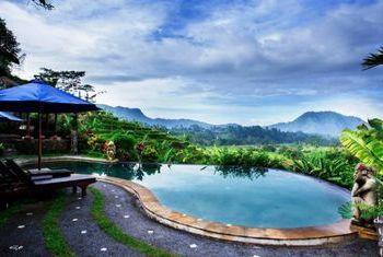 Surya Shanti Villa Pool