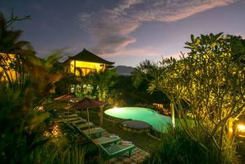 Teras Bali at night