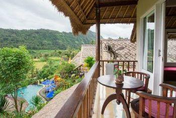 Surya Shanti Villa Balcony