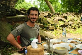 Banteay Chhmar Tented Camp dining area
