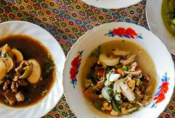 Banteay Chhmar Tented Camp Dinner