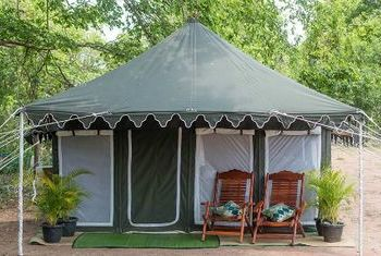 Banteay Chhmar Tented Camp building