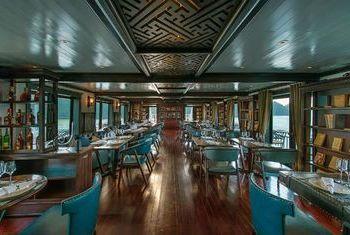 Paradise Luxury Cruise main hall