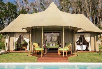 Koyao Island Resort tent