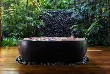 Pa Sak Tong Resort Bathtube