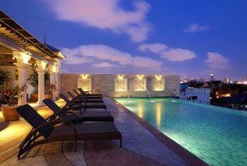 Chillax Resort pool view