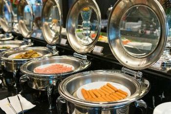 Chillax Resort food