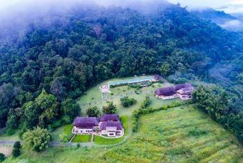 500 Rai Farm House From the high above