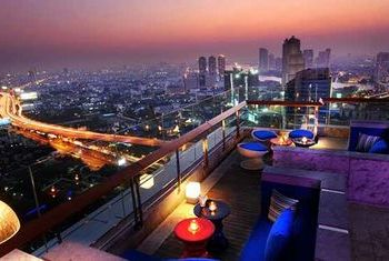 Mode Sathorn Hotel rooftop bar