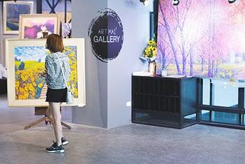 Art Mai Gallery Hotel in the hotel
