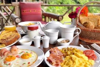Lisu Lodge Breakfast