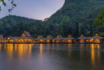 River Kwai Floating House