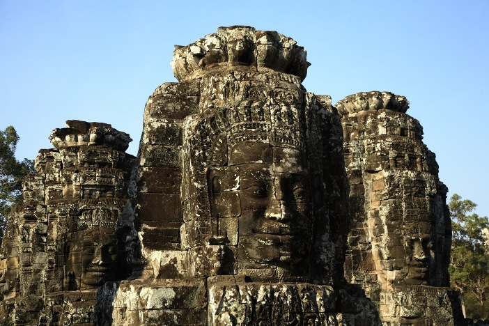 The Mysterious Smiling Faces of Bayon Temple in Cambodia