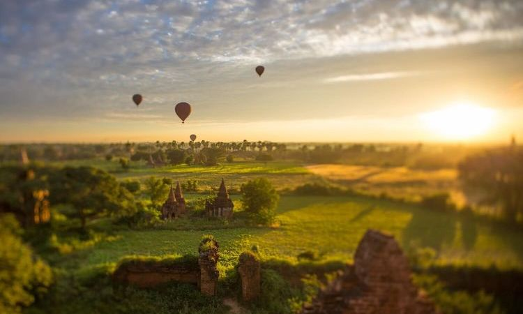 The Ancient Bagan - Land of Thousand Forgotten Temples
