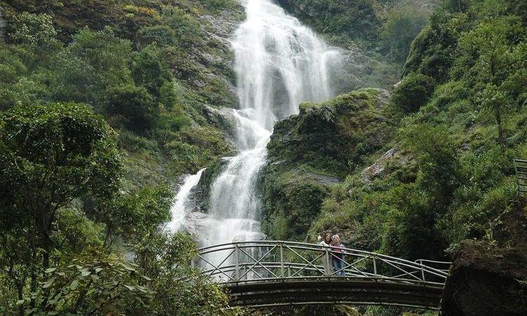 Visit Thac Bac (Silver Waterfall) in Sa Pa