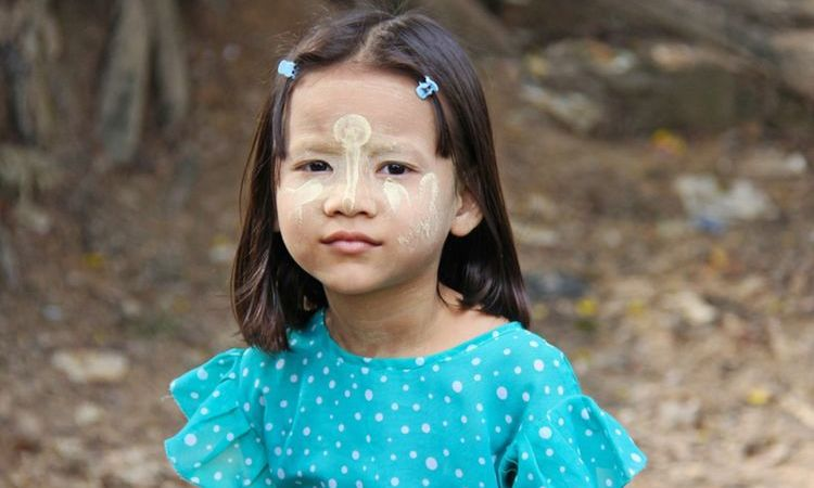 Why do Burmese Women Have White Faces?