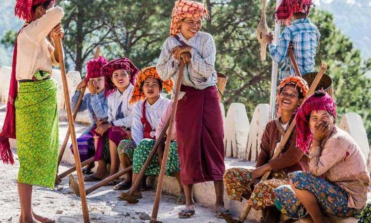 Visit Myanmar, The Land of Longyi Rhythm