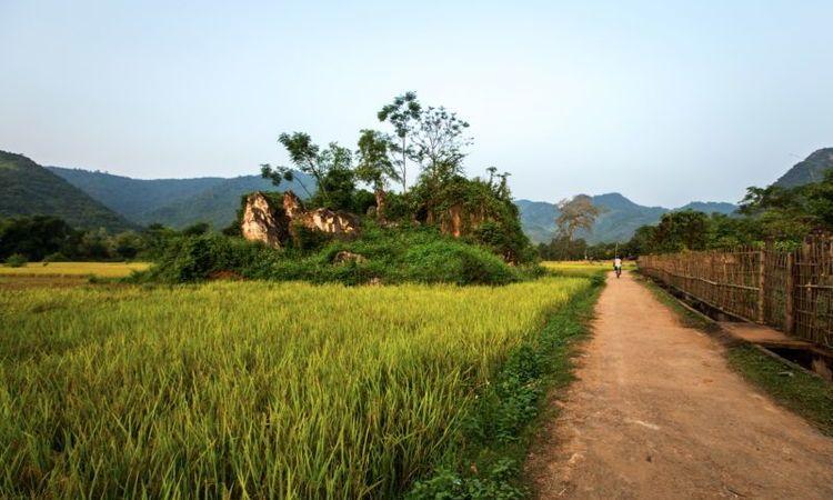 Bike in Mai Chau