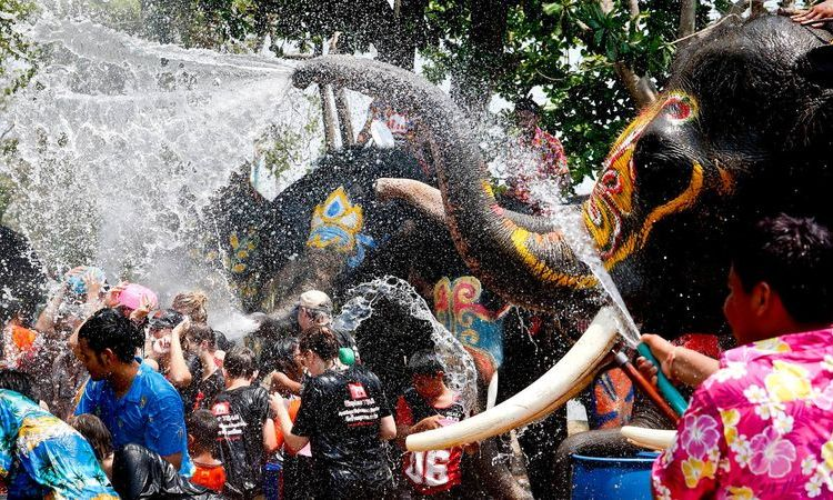 Ever Heard Of Water Festival? Book A Flight To These Countries To Start The Craziest Water Battles On New Year's Eve