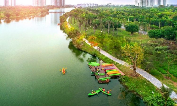One Day At ECOPARK - The Green City Outskirt of Hanoi