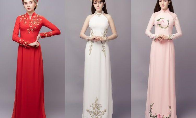 Traditional Ao Dai - New Trend for Vietnam Wedding Dress