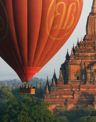 Light And Balloons Of Myanmar