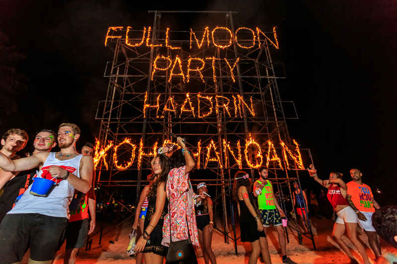 Join the Full Moon Party
