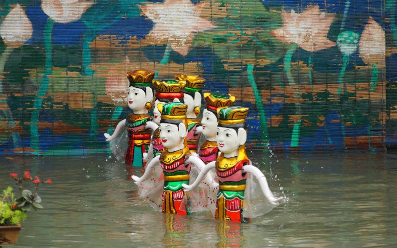 Watch a Water Puppet Show