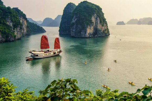 Cruise down Ha Long Bay