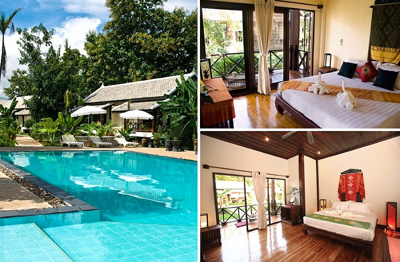 Top ten hotels in Luang Prabang