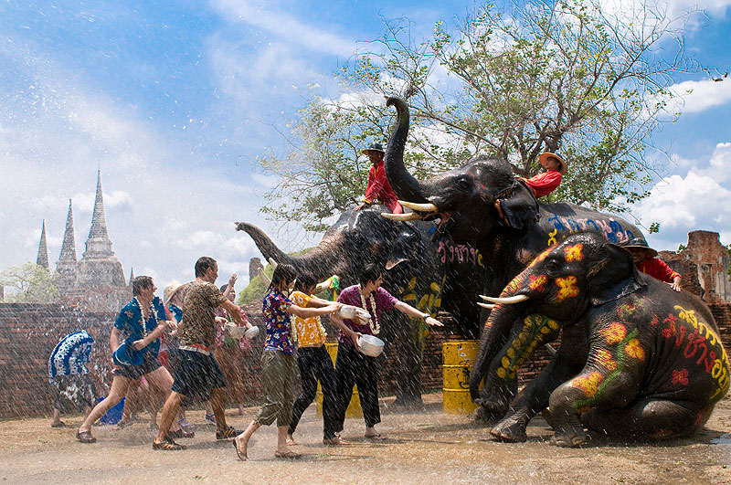 Songkran - 6 Most Spectacular Festivals in Southeast Asia Worth Traveling for