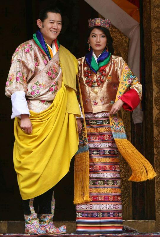 the King and Queen Jetsun Pema