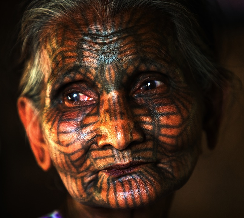 The Story Of The Face Tattooed Women In Chin State Myanmar
