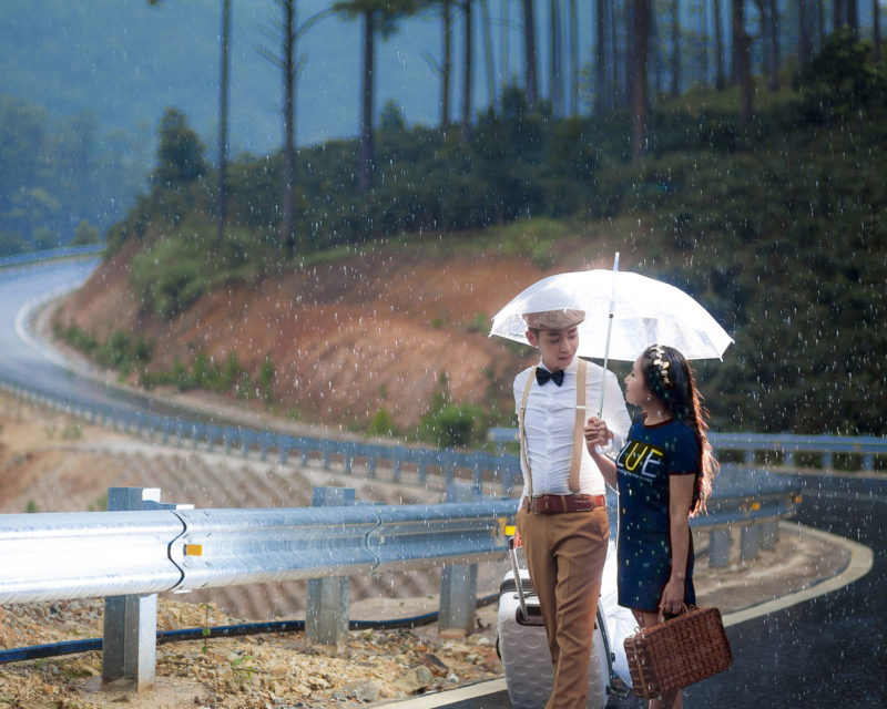 A wedding photo