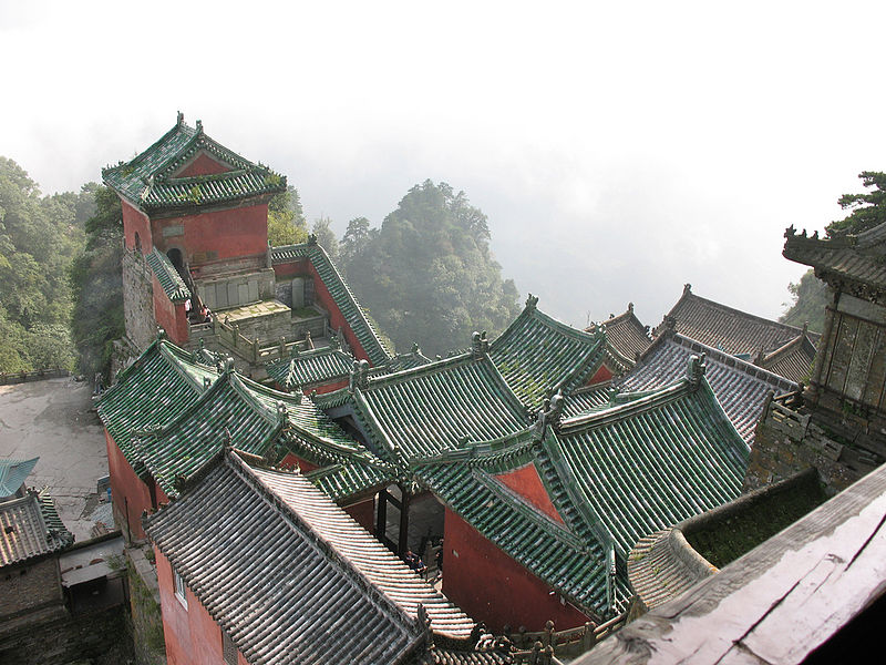 Wudangshan-Mountains-China