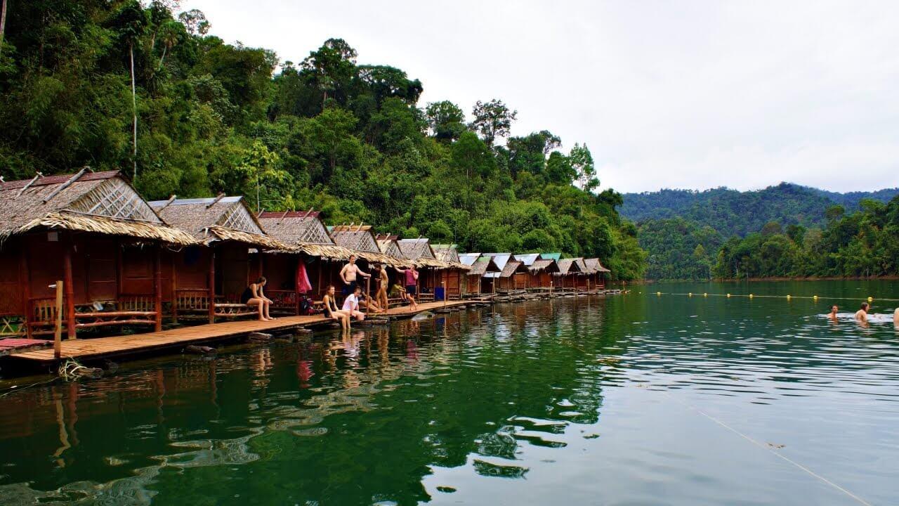 Overnight Raft House - Khao Sok National Park